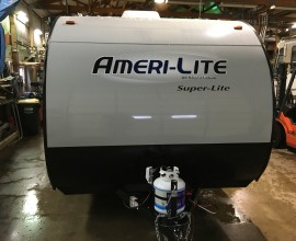 2018 Gulf Stream Ameri-Lite 199DD Travel Trailer Only 2790lbs Easy to Tow