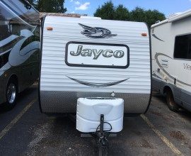 2015 JAYCO 145RB Super Lite Tow with Small SUV
