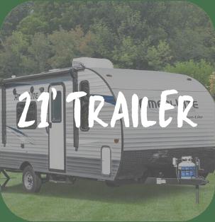 21 Foot Travel Trailer RV Rental