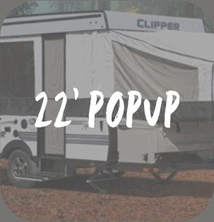 22 Foot Popup RV Rental